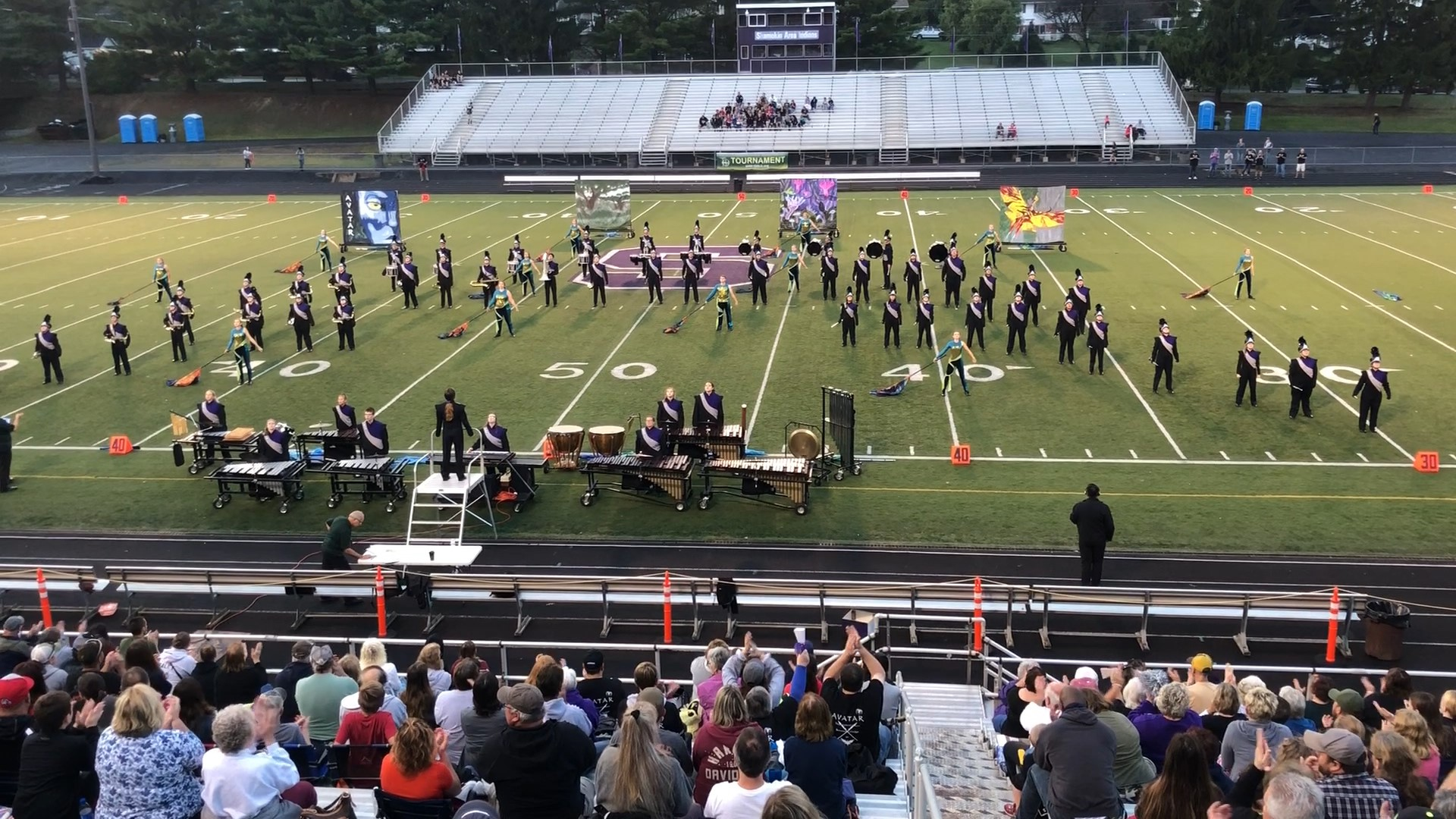 MCHS Marching Band Places First in Shamokin